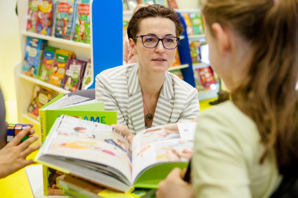 Kristina Savickytė, book, kids