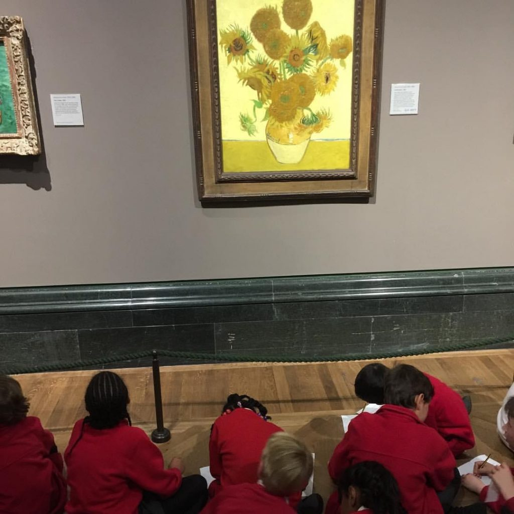 London national gallery toddlers