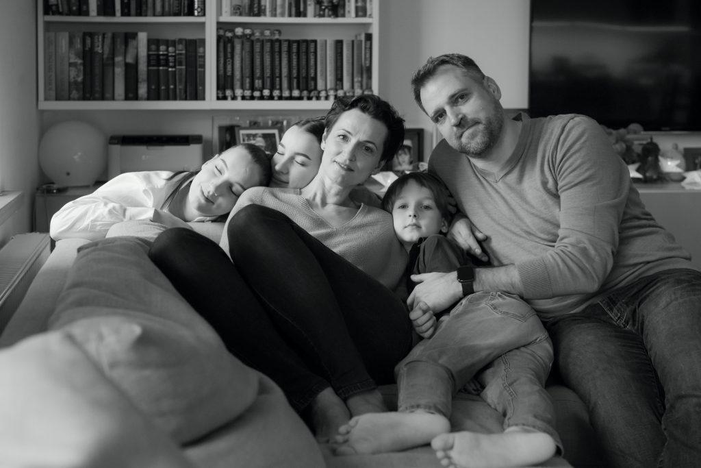 Kristina Savickytė, family