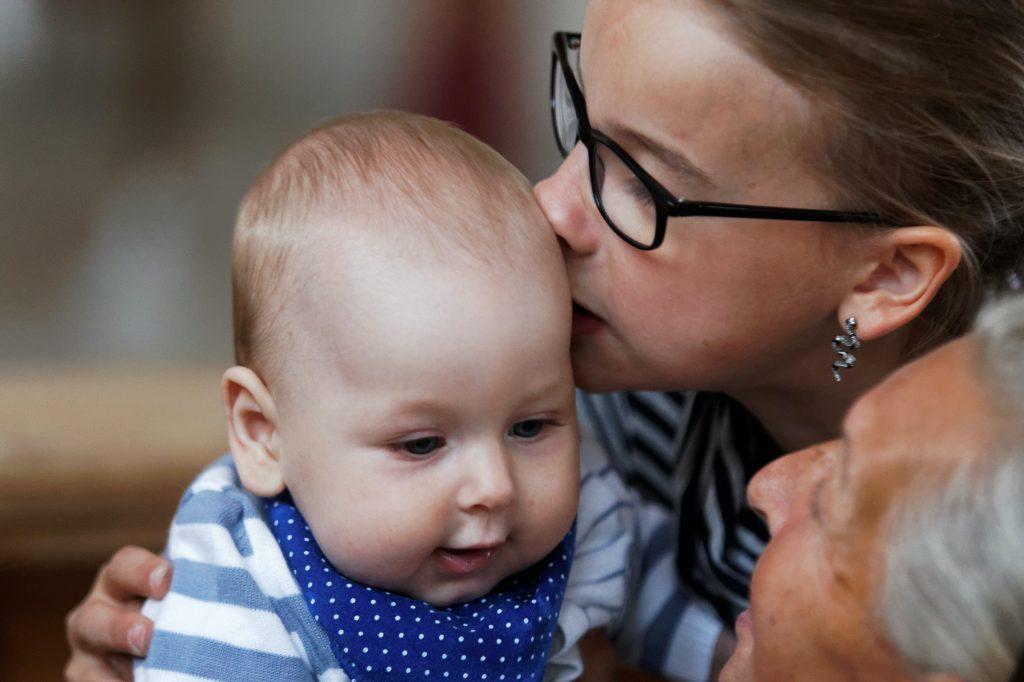 Meilė kūdikiui, Savickytė
