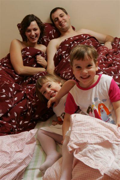 Kristina Savickytė, kids, family time